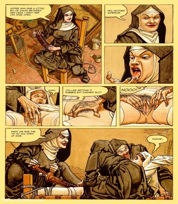 The Convent Of Hell 4 free sex comic