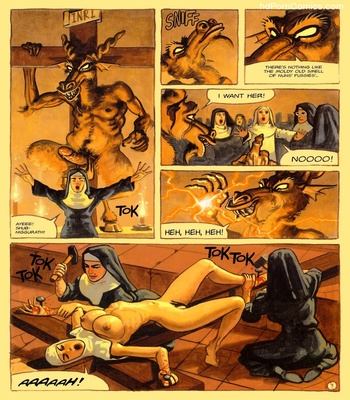The Convent Of Hell 40 free sex comic