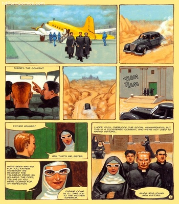 The Convent Of Hell 44 free sex comic