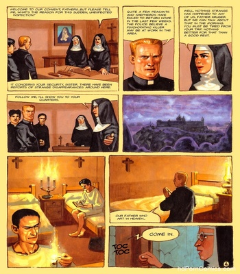 The Convent Of Hell 45 free sex comic