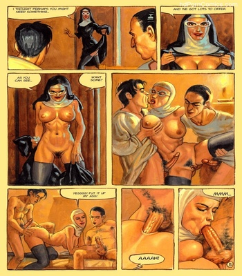 The Convent Of Hell 46 free sex comic