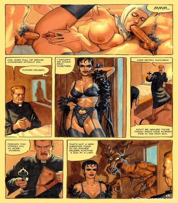 The Convent Of Hell 47 free sex comic