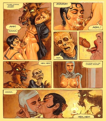 The Convent Of Hell 49 free sex comic