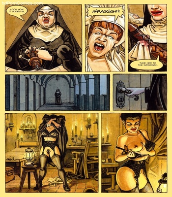 The Convent Of Hell 5 free sex comic