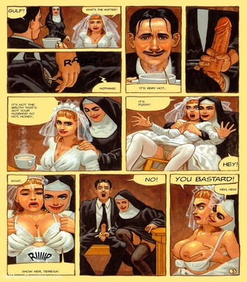 The Convent Of Hell 52 free sex comic