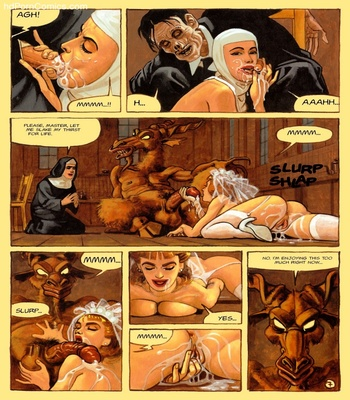 The Convent Of Hell 56 free sex comic