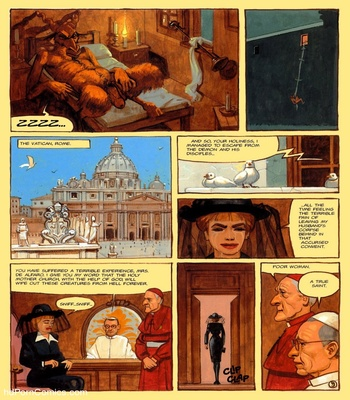 The Convent Of Hell 58 free sex comic