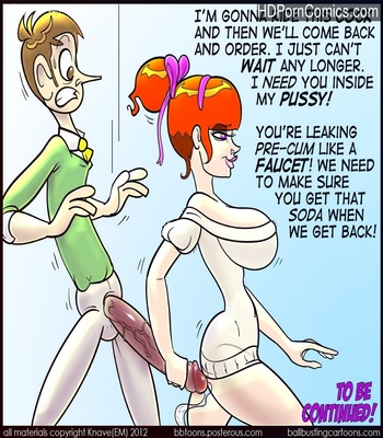 The Cougar 2 Sex Comic