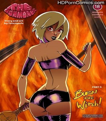 Porn Comics - The Cummoner 7 – Burn The Witch Sex Comic