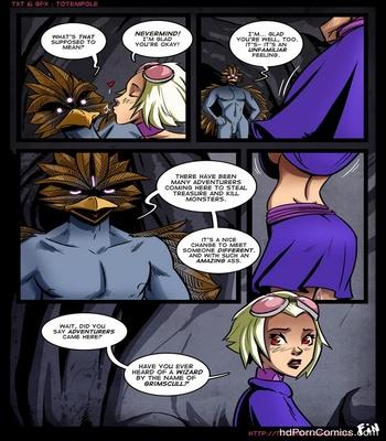The Cummoner 7 – Burn The Witch Sex Comic