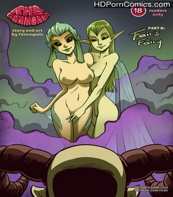Porn Comics - The Cummoner 8 – Fair's Fairy Sex Comic