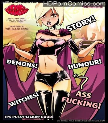 The Cummoner - The Black Book 1 1 free sex comic