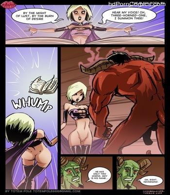 The Cummoner - The Black Book 1 5 free sex comic