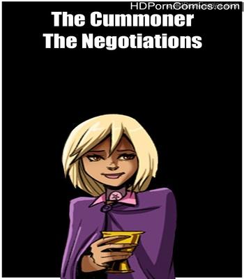 Porn Comics - The Cummoner – The Negotiations Sex Comic