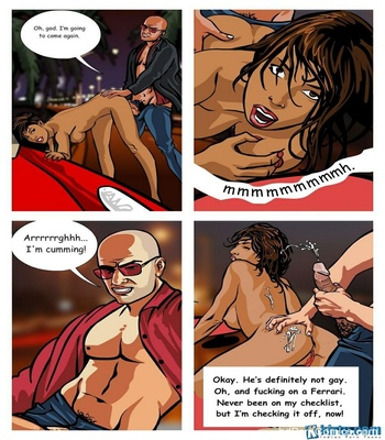 The Encounter Specialist 1 - Going Down On Crime Sex Comic