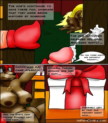 The Fuck Before Christmas Sex Comic