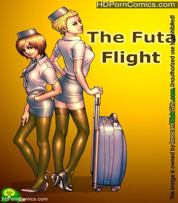 Porn Comics - The Futa Flight Sex Comic