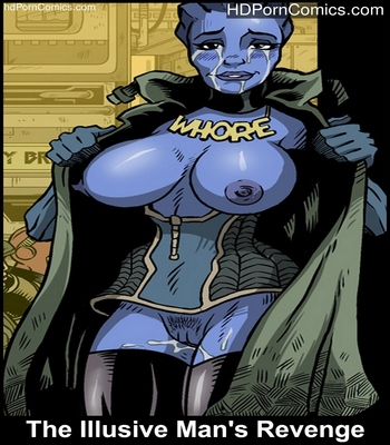 Porn Comics - The Illusive Man's Revenge Sex Comic