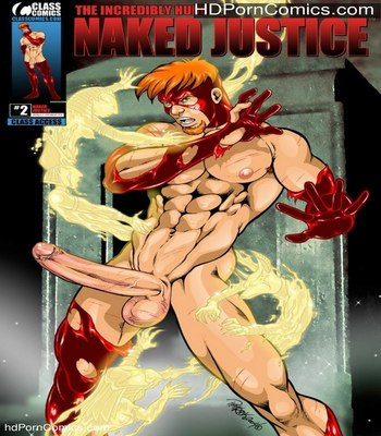 Porn Comics - The Incredibly Hung Naked Justice 2 Sex Comic