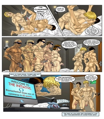 The Initiation 3 Sex Comic
