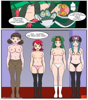 The Kaa Virus Sex Comic