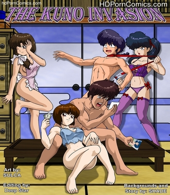 Porn Comics - The Kuno Invasion Sex Comic