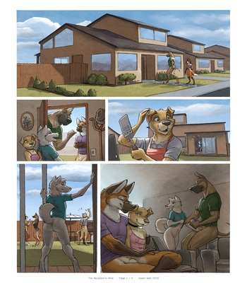 The Neighbor's Wife 2 free sex comic
