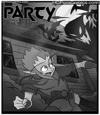 Porn Comics - The Party 3 – The Undead Diaries Sex Comic