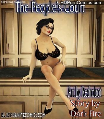 Porn Comics - The People's Court Sex Comic