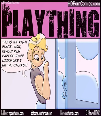 The Plaything Sex Comic