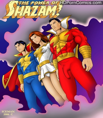 Porn Comics - The Power Of Shazam Sex Comic