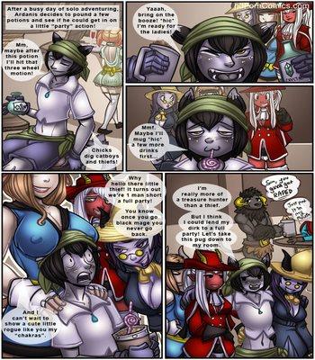 The Pug 2 free sex comic