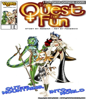 Porn Comics - The Quest For Fun 1 – Out Of The Mountains, Into The World Sex Comic