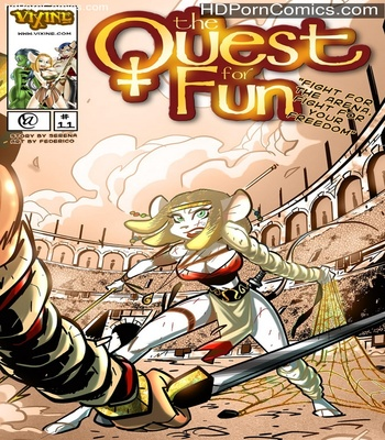 Porn Comics - The Quest For Fun 11 – Fight For The Arena, Fight For Your Freedom Sex Comic