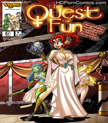 The Quest For Fun 13 - Fight For The Arena, Fight For Your Freedom Part 3 1 free sex comic