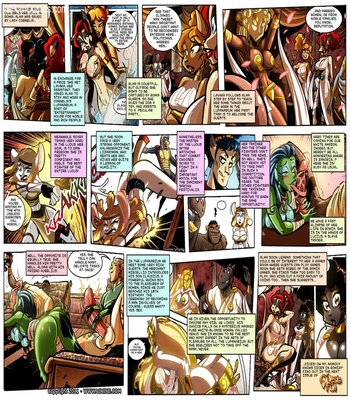 The Quest For Fun 13 - Fight For The Arena, Fight For Your Freedom Part 3 2 free sex comic