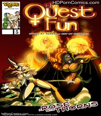Porn Comics - The Quest For Fun 2 – A Rose With Thorns Sex Comic
