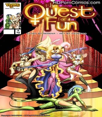 Porn Comics - The Quest For Fun 4 Sex Comic
