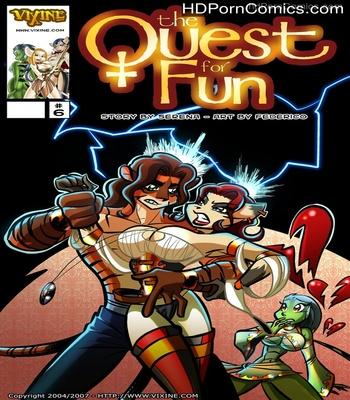Porn Comics - The Quest For Fun 6 Sex Comic