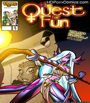 Porn Comics - The Quest For Fun 7 – The Sins Of The Fathers Sex Comic