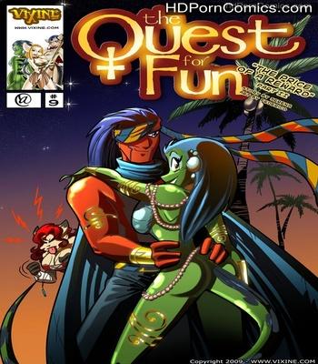 Porn Comics - The Quest For Fun 9 – The Price For A Reward Part 2 Sex Comic