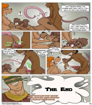 The Rat King Sex Comic
