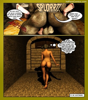 The Reward Of The Orcs 3 Sex Comic