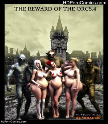 The Reward Of The Orcs 4 Sex Comic