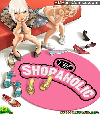 Porn Comics - The Shopaholic Sex Comic