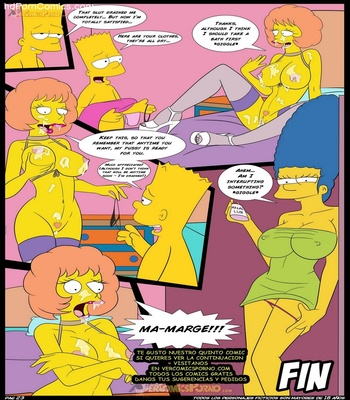 The Simpsons 4 – An Unexpected Visit Sex Comic