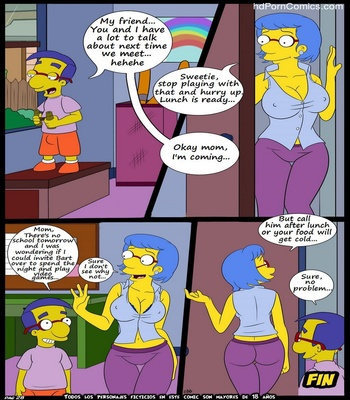 The Simpsons 5 – New Lessons Sex Comic