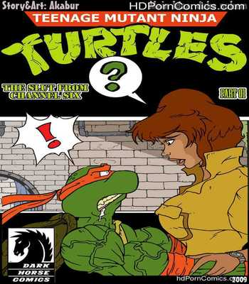 Porn Comics - The Slut From Channel Six 1 – Teenage Mutant Ninja Turtles Sex Comic