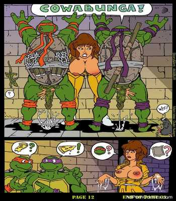 The Slut From Channel Six 1 – Teenage Mutant Ninja Turtles Sex Comic