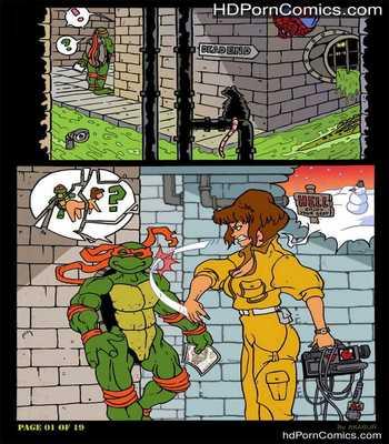 Porn Comics - The Slut From Channel Six 2 – Teenage Mutant Ninja Turtles Sex Comic